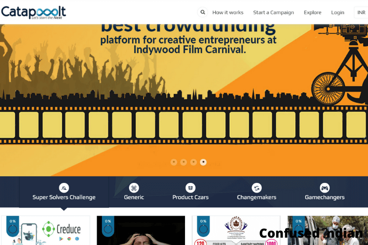 Crowdfunding Platforms in India Catapult