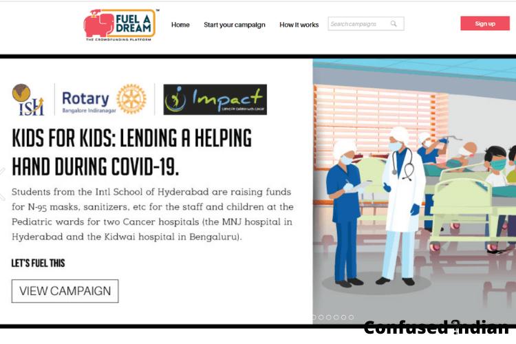 Crowdfunding Platforms in India fueladream