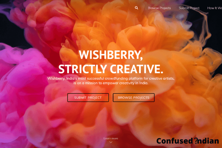 Crowdfunding Platforms in India wishberry