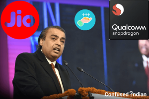 Qualcomm And Reliance Jio $97 Million Partnership