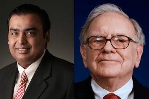 Mukesh Ambani passed Warren Buffett