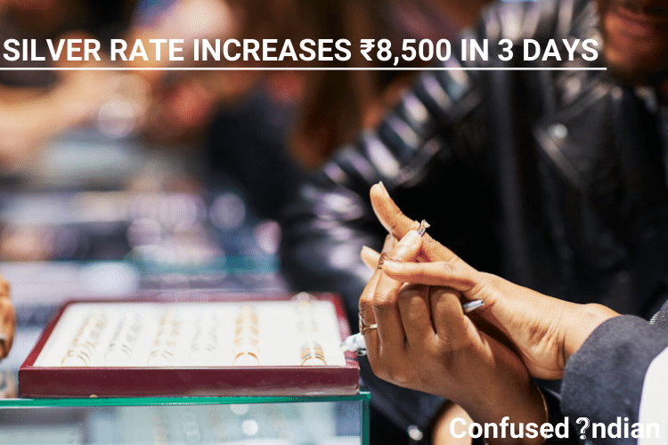 Silver Rate Increases ₹8,500 In 3 Days  Why Is The Silver Rate Increasing?