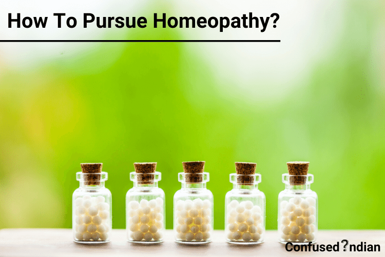 how to pursue homeopathy
