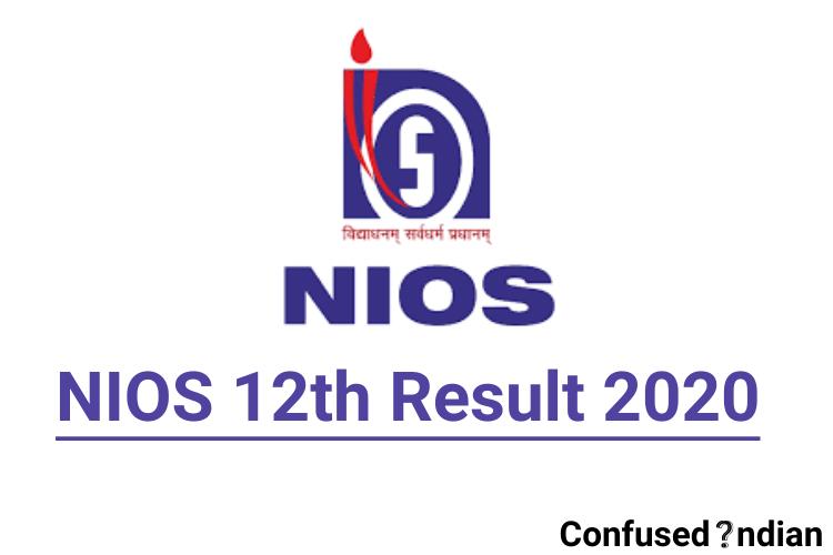 NIOS 12th Result 2020