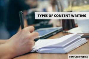 types of content writing